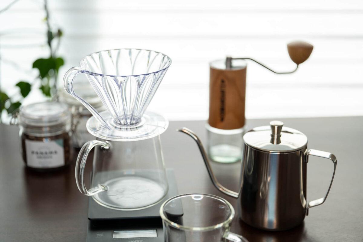 コーヒーの道具はお手入れして大切に使おう